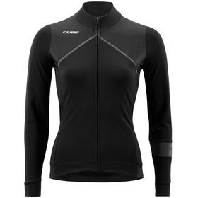 Cube Blackline Maillot de cyclisme à manches longues Femme, black